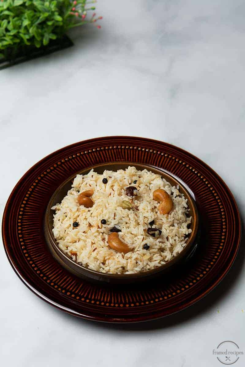 instant pot indian jeera rice