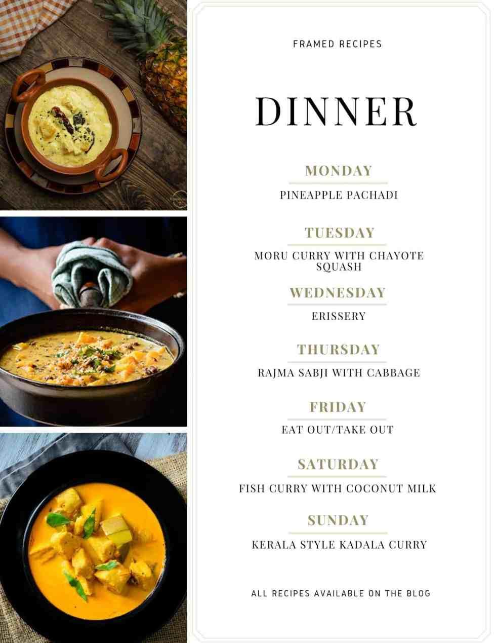 meal plan Number 8
