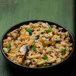 quick and easy recipe for mushroom flavored rice