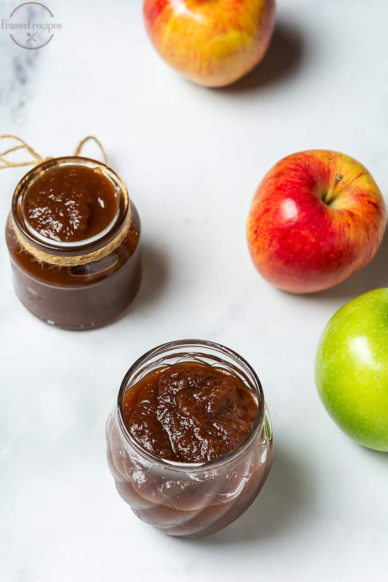 apple butter made in slow cooker