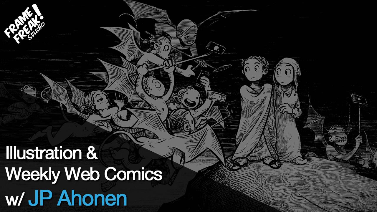 Interview with JP Ahonen: Illustrator & Creator of Perkeros & Belzebubs