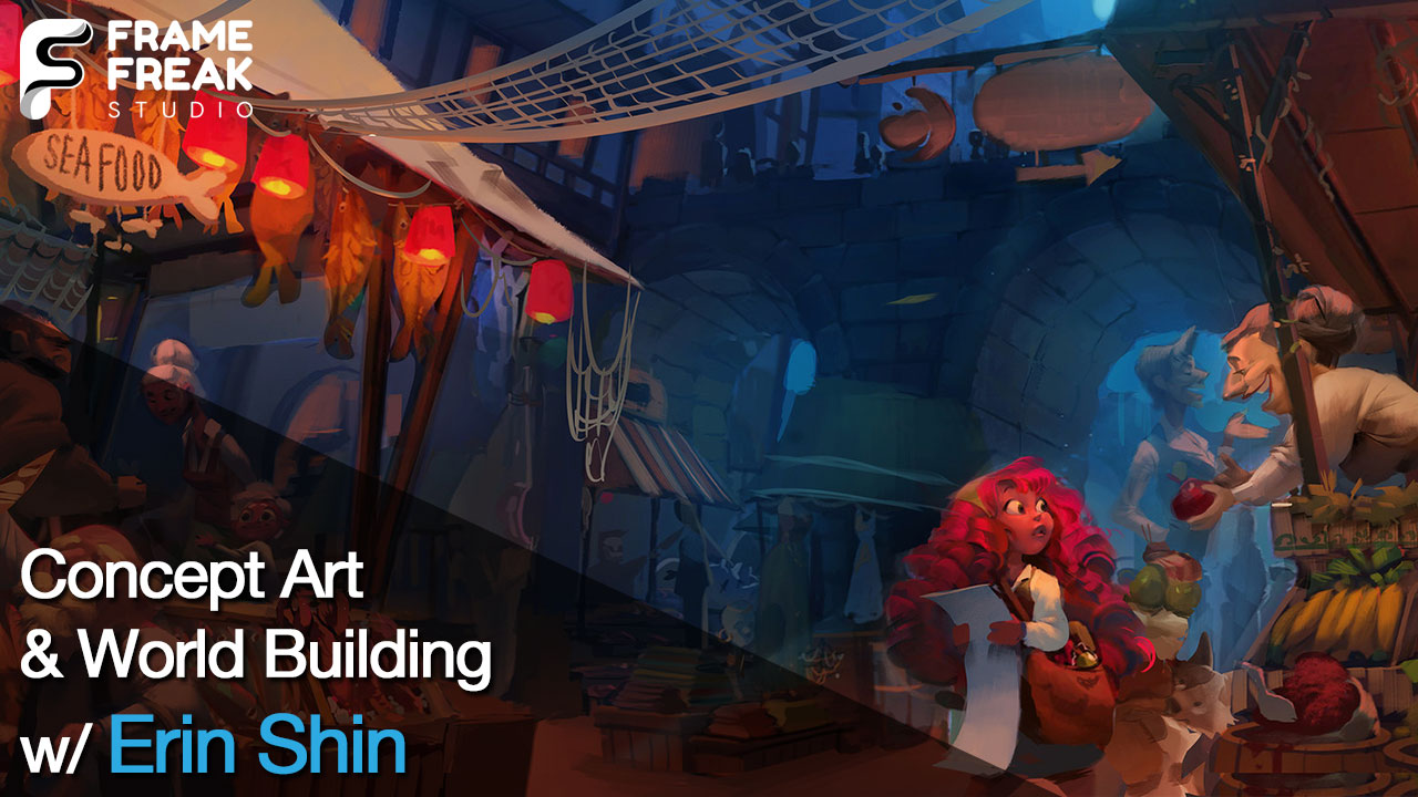Interview with Erin Shin: Concept Art, Character Designer & World Building