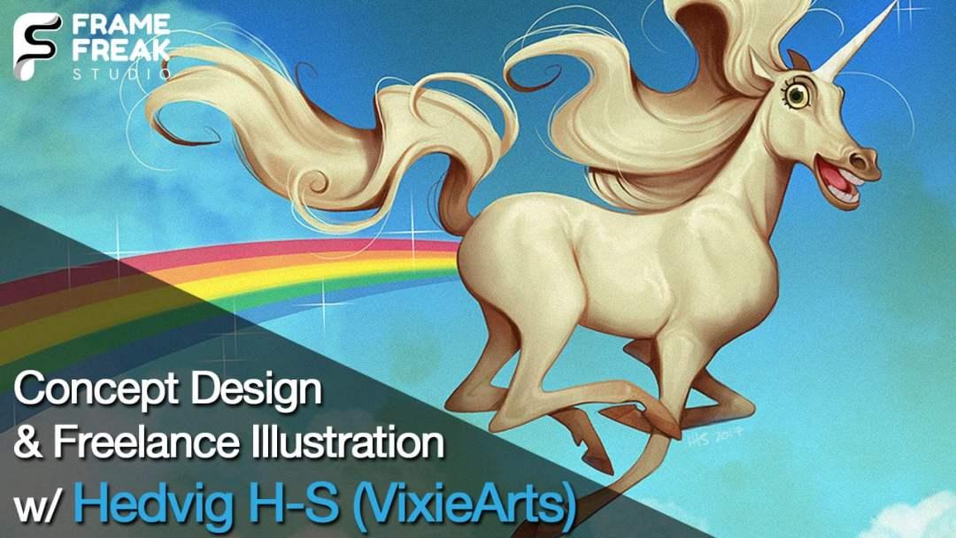 Hedvig H-S - VixieArts - Frame Freak Studio