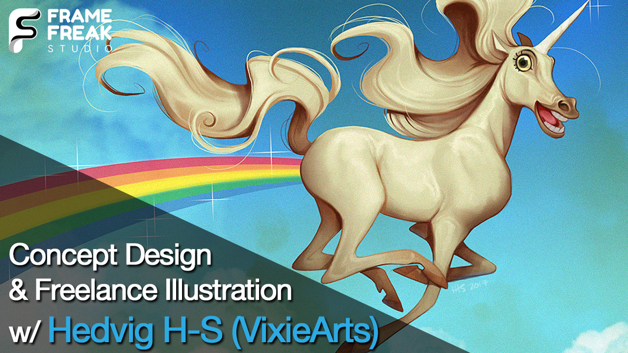 Interview with Hedvig H-S (VixieArts): Freelance Illustrator, Comic & Concept Artist