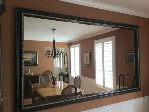 Framing Yourself Mirror