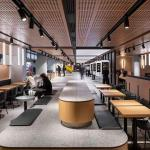 Frame Moscow S Mcdonald S Pushkin Square Russia S Very First Gets A Modern Interior Update