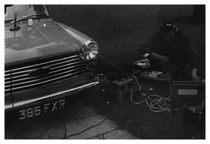 powering recorders with car battery