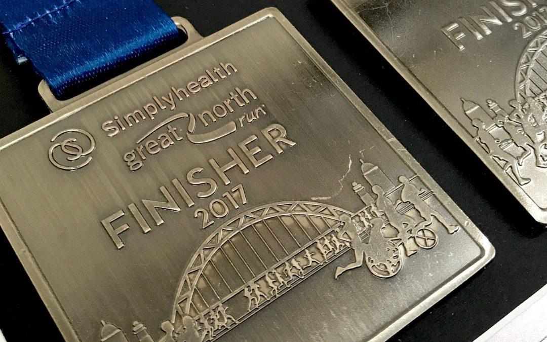 Simplyhealth – Great North Run 2017 Professional Medal Framing