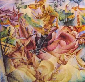 Umberto Boccioni: Elasticità