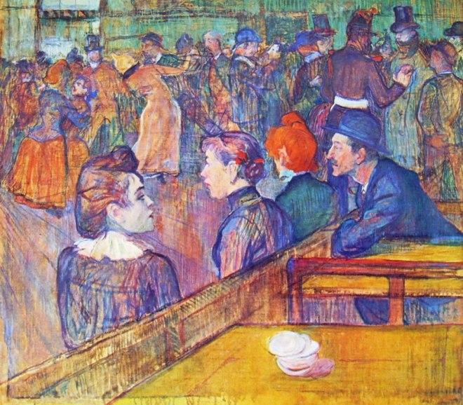 Toulouse-Lautrec: Al Moulin de la Galetté