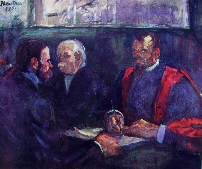 Toulouse-Lautrec: Un esame alla facoltà di medicina