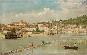 Angelo Dall'Oca Bianca: Pescatori di sabbia, o Verona, Fondazione Cariplo,