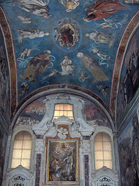 Volta della Cappella della Croce in San Frediano, Lucca