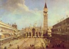 Canaletto: Piazza S Marco