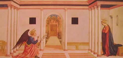 L'annunciazione della Vergine: Domenico Veneziano