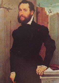 Ritratto detto del poeta sconosciuto 1560: Giovan Battista Moroni, Pinacoteca Civica di Brescia