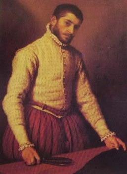 Il sarto 1566-70: Giovan Battista Moroni, National Gallery di Londra