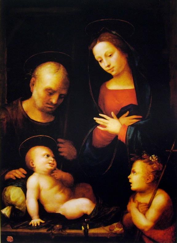 Mariotto Albertinelli: Sacra Famiglia di New York.