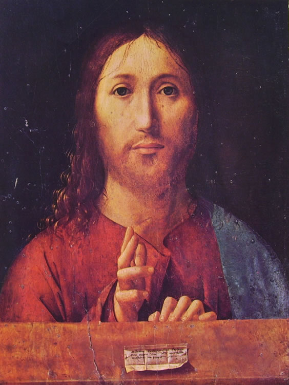 Antonello da Messina: Salvator mundi