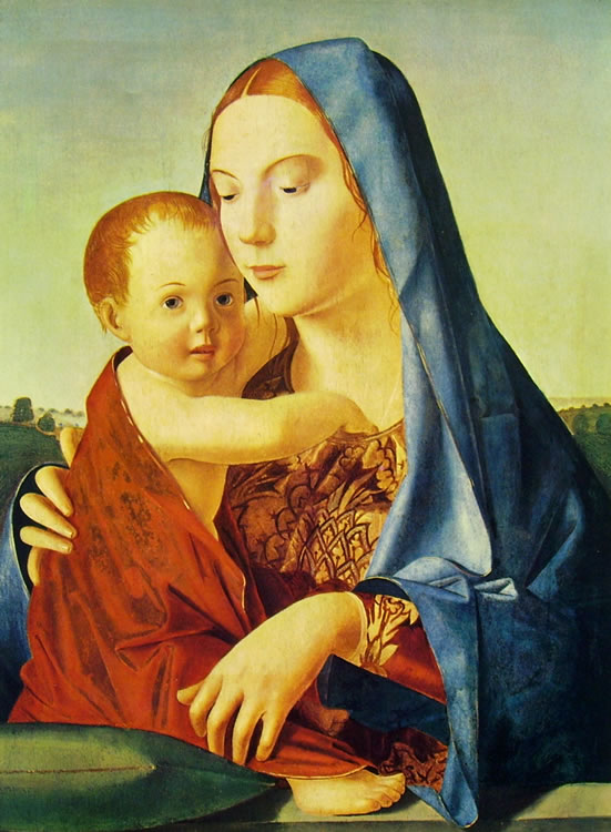 Antonello da Messina: Madonna Benson