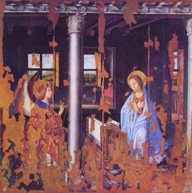 Antonello da Messina: L'Annunciazione