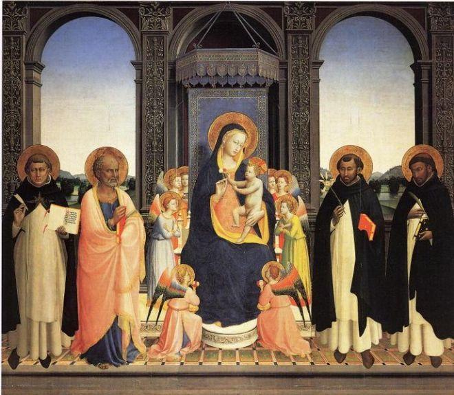 Beato Angelico: Pala di Fiesole