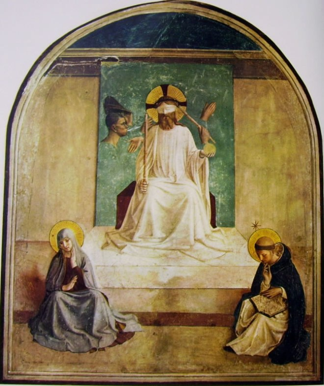Beato Angelico: Affreschi di San Marco - Cristo deriso