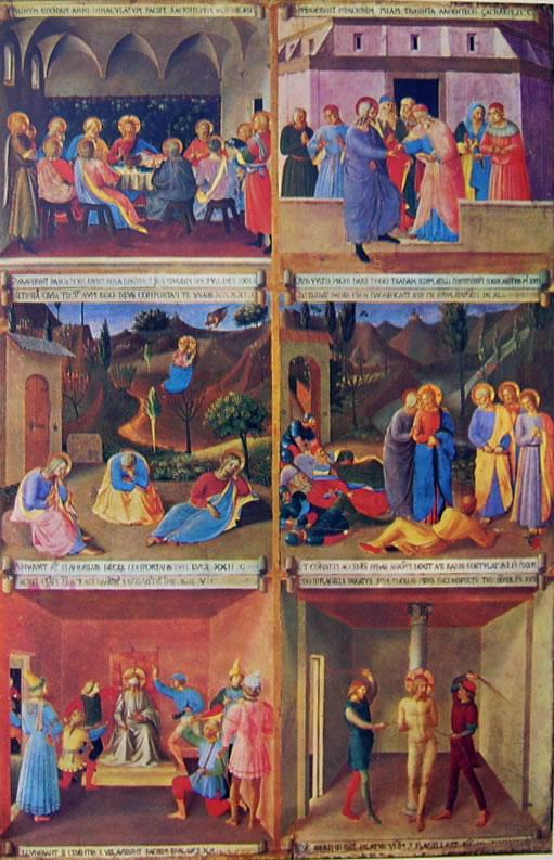 Beato Angelico: Armadio degli argenti - uno sportello dipinto