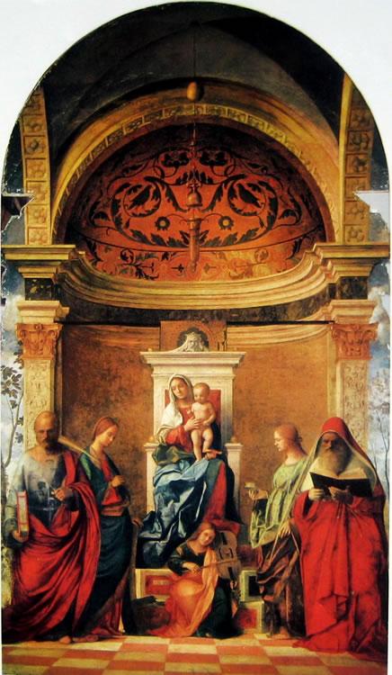 Giovanni Bellini: Pala di San Zaccaria