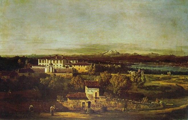 Bellotto: Gazzada - Villa Melzi