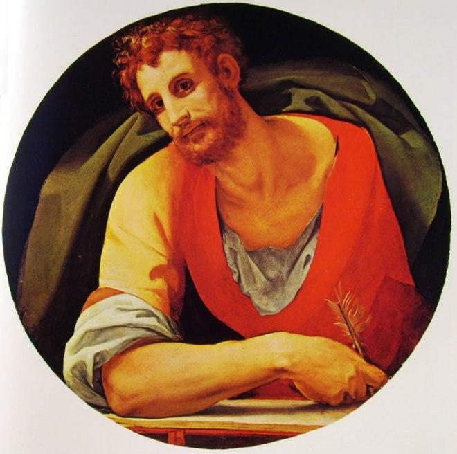 Il Bronzino: Gli Evangelisti di Santa Felicita (San Marco)