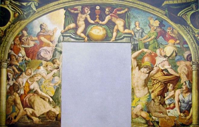 Il Bronzino: Decorazione della Cappella di Eleonora da Toledo - Mosè fa scaturire l'acqua dalla roccia