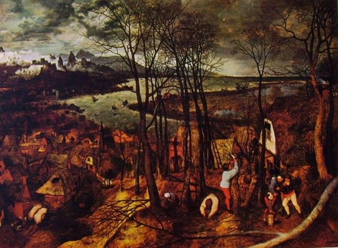 Pieter Bruegel: Giornata buia (Giornata nuvolosa)