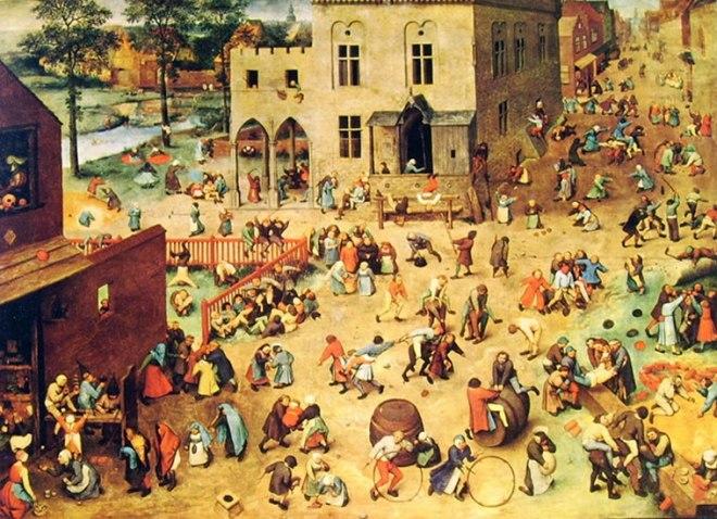 Pieter Bruegel: Giochi di fanciulli