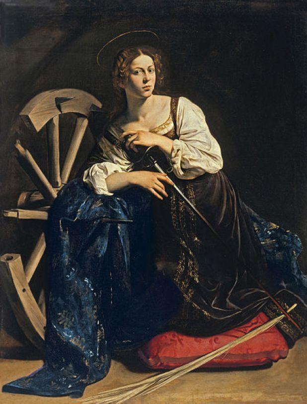 Il Caravaggio: Santa Caterina d'Alessandria