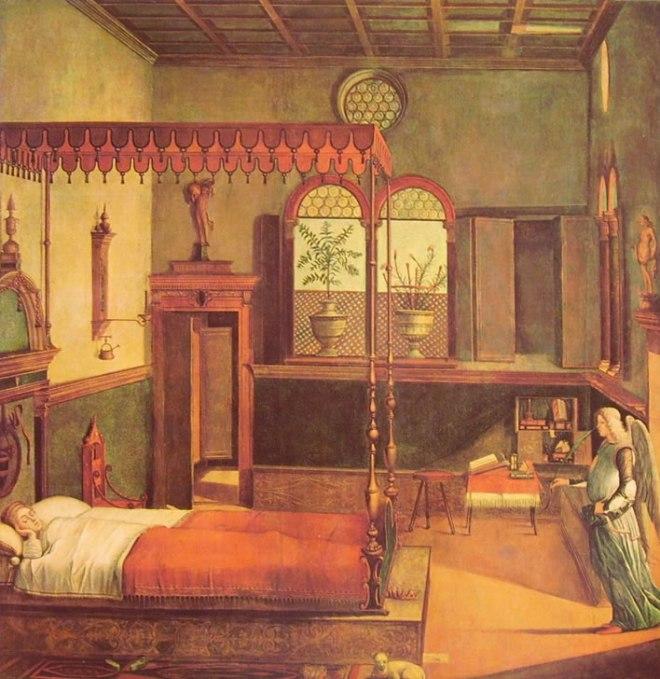 Carpaccio: Il sogno della santa
