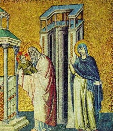 Presentazione al tempio lato destro
