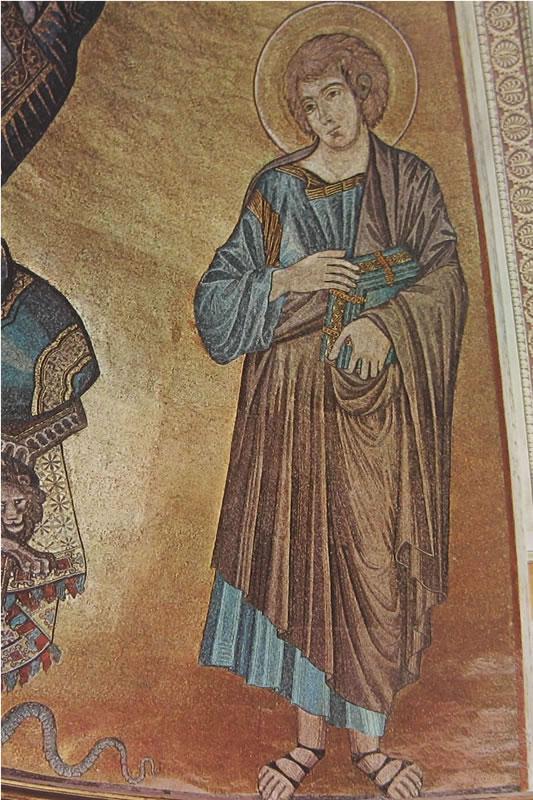 Cimabue: San Giovanni Evangelista