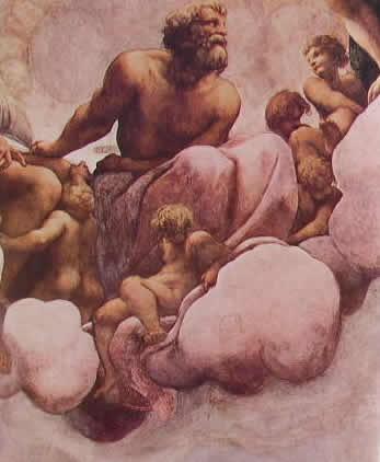 Particolari della cupola: San Simone