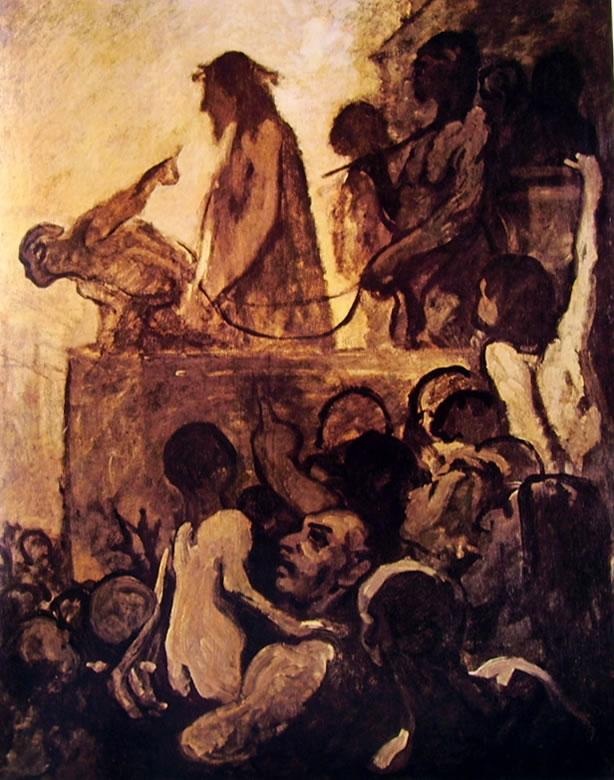 Honoré Daumier: Ecce Homo
