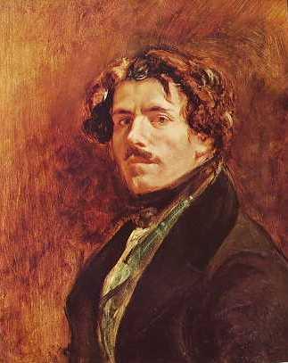 Delacroix - Autoritratto a 40 ann