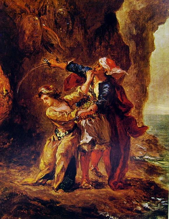 Eugène Delacroix: La fidanzata di Abydos