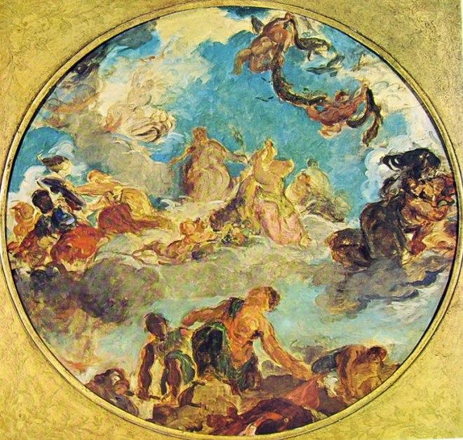 Eugène Delacroix: La pace
