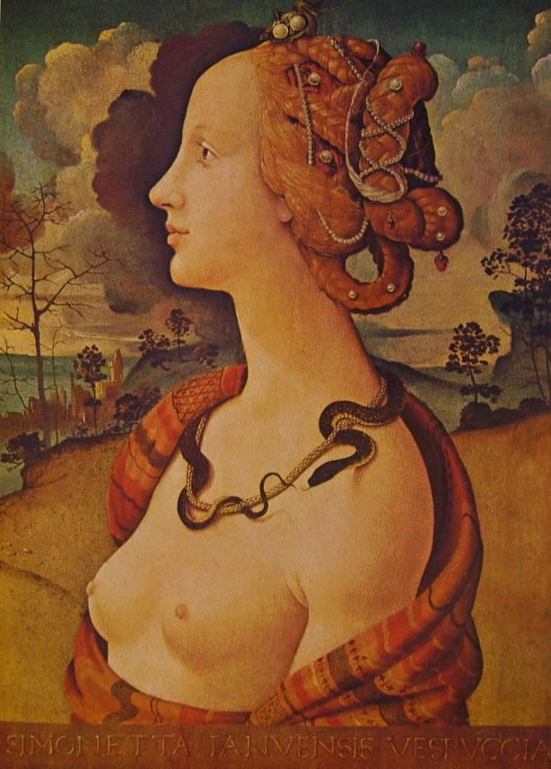 Piero di Cosimo: Simonetta Vespucci