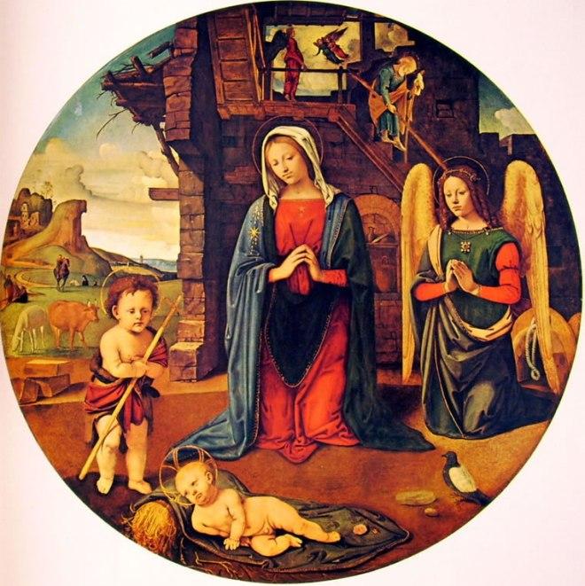 Piero di Cosimo: Adorazione del bambino