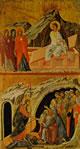Duccio - Le Marie al Sepolcro e La Discesa al limbo