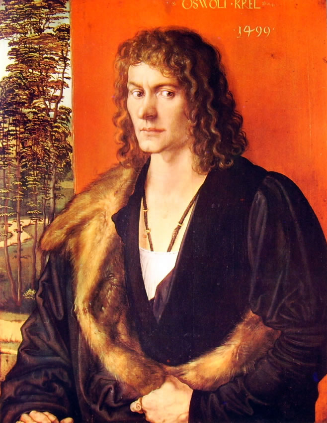 Albrecht Dürer: Ritratto di Oswolt Kre