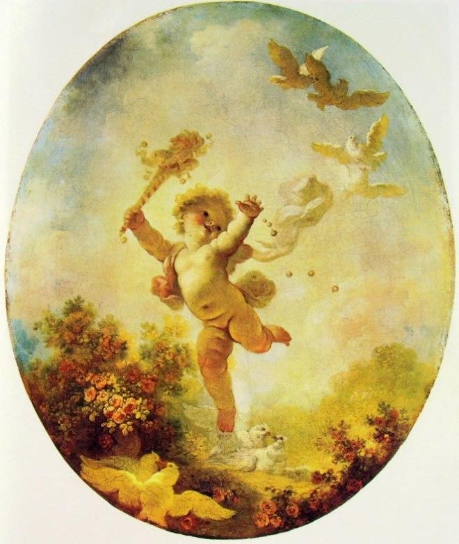 Jean-Honoré Fragonard: Amorino giullare