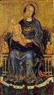 10 gentile da fabriano - madonna con bambino e due angeli