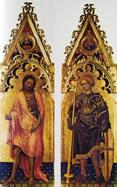 I santi Giovanni Battista e Giorgio